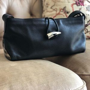 Vintage leather bag from burburry